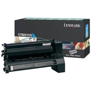 Toner Original C782dtn Ciano / Azul – C782X1CG Lexmark