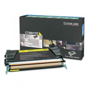 Toner Original Lexmark C736H1YG C736n Super Promoção
