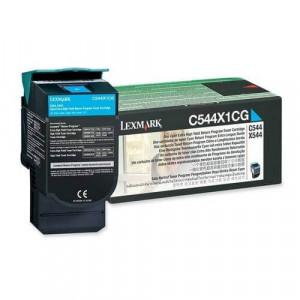 Toner Original C544dn Ciano - C544X1CG Lexmark