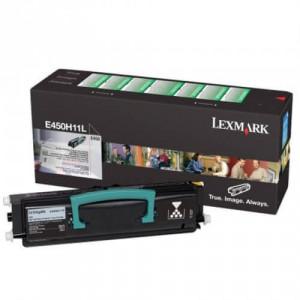 Toner Original E450DN Preto – E450H11L / E450H11B Lexmark
